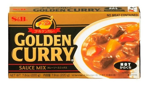 Imagen 1 de 2 de Golden Curry Varias Opciones Made In Japon 220g