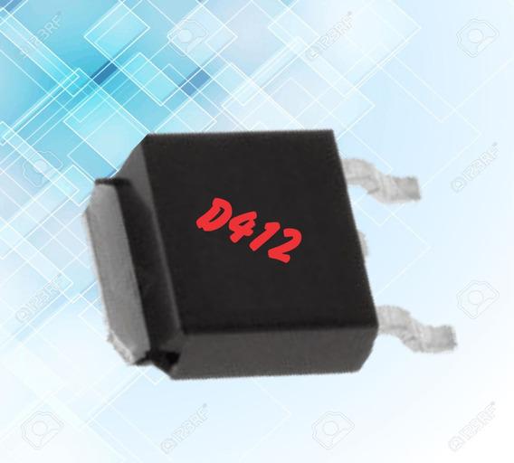 Transistor Mosfet Smd D412 (4 Unidades)