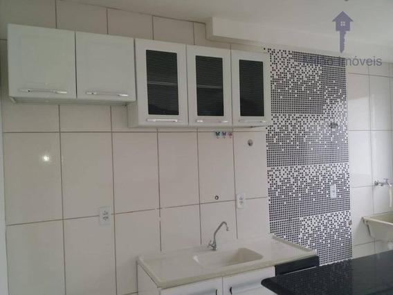 Apartamento Com 2 Dormitórios Para Alugar, 49 M² Por R$ 700/mês - Condomínio Parque Sicília - Campolim - Sorocaba/sp - Ap1117