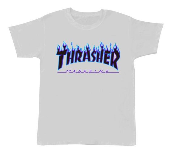 Playera Thrasher Magazine 3 A 14 Años Dia Del Niño Moda