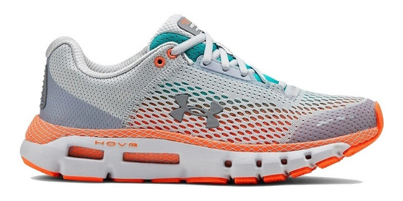 Zapatillas Under Armour Hovr Infinite Connected Gri Mujer