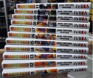 Manga Dragon Ball Super - Tomos 1 Al 11 - Ivrea - Akira