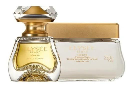 Boticario Elysée Blanc Eau Parfum 50ml+ Creme Acetinado 250g