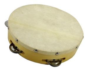 Instrumento Musical Pandero/tambor 5 Anillos Atlantik
