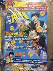 Revistas Ultra Jovem Dragonball Z , Todas Elas Com Poster.