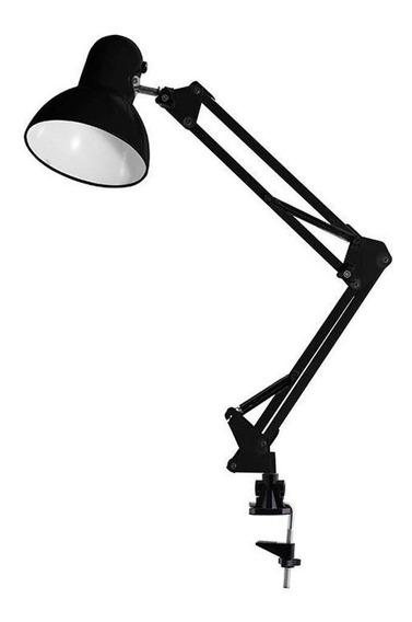 Luminária Articulável Clipe Ajustável Abajur Bivolt