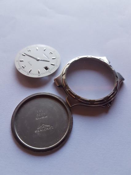 Caixa E Vidro Relógio Longines