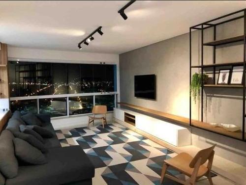 Imagem 1 de 30 de Luxuoso Apartamento Mobiliado 4 Dormitórios 3 Vagas Balneário Camboriú - Ap4363