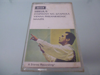 Cassette Sibelius Symphony No 4 Tapiola Vienna Philharmonic