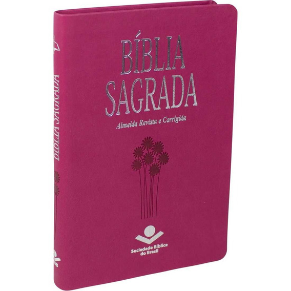 Biblia Sagrada Pink Agenda Sbb