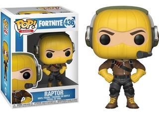 Figura Funko Pop Fortnite Raptor #436