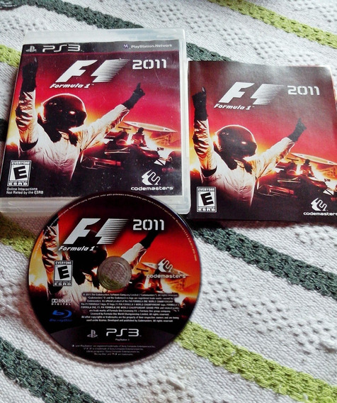 Jogo Formula 1 2011 - Ps3