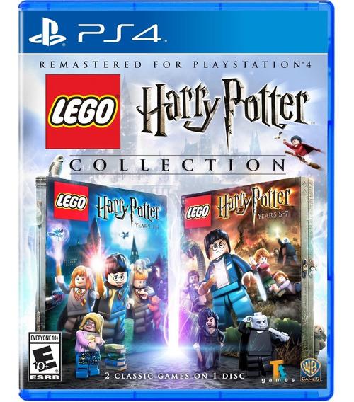 Jogo Lego Harry Potter Collection Ps4 Disco Fisico Lacrado