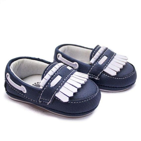 Mocassim Infantil Sapato Bebê Clássico - Oferta