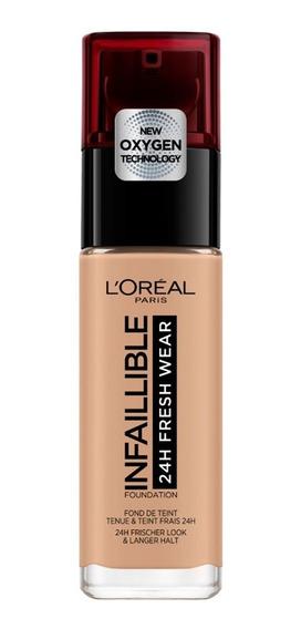 Base Maquillaje Mate Larga Duración Infallible L