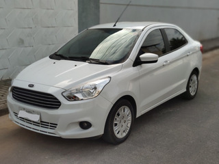 Ford Ka+ 1.5 Advanced 2017/18 Branco 4 Cilindros 106 Mil Km