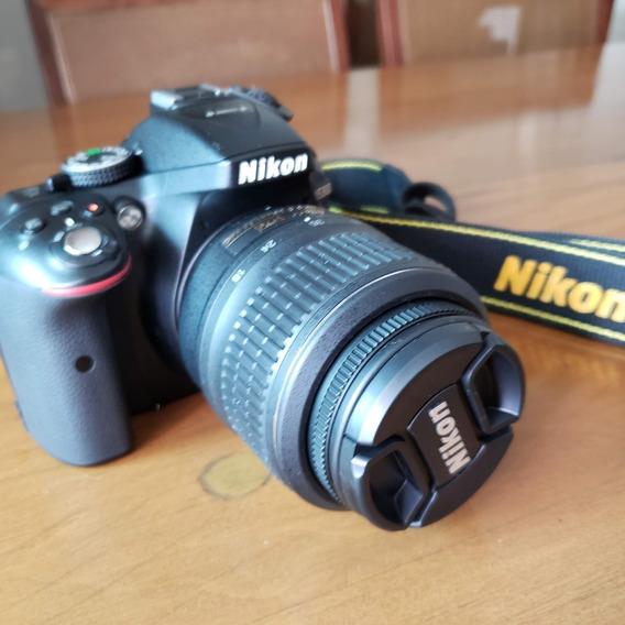 Câmera Nikon D5300 + Lente 18-55mm Vr + Cartão De Memória