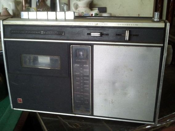 National Panasonic Fm-am Cassette Auto Stop Rq-236