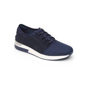 Sneaker Flexi Dama 37701 Azul
