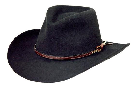 Hombres Stetson Bozeman Sombrero D Lana De Fieltro Cowboy M