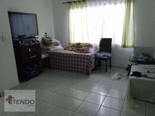 Imagem 1 de 14 de Imob01 - Sobrado 150 M² - 3 Dormitórios - Vila Progresso - Santo André/sp - So0242