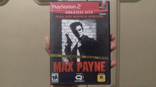 Max Payne Playstation 2 Con Blitz The League De Regalo!