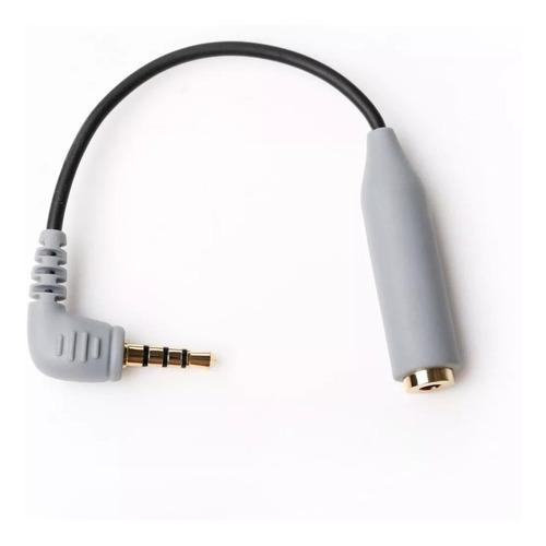 Imagen 1 de 10 de Adaptador Microfono Mini Plug 3,5mm Trs A Trrs Boya By-cip