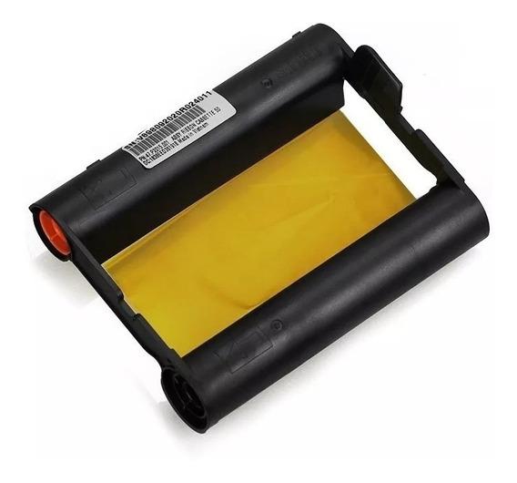 Papel Ribbon Impressora S420 Hiti Original 50 Folhas Sem Cx