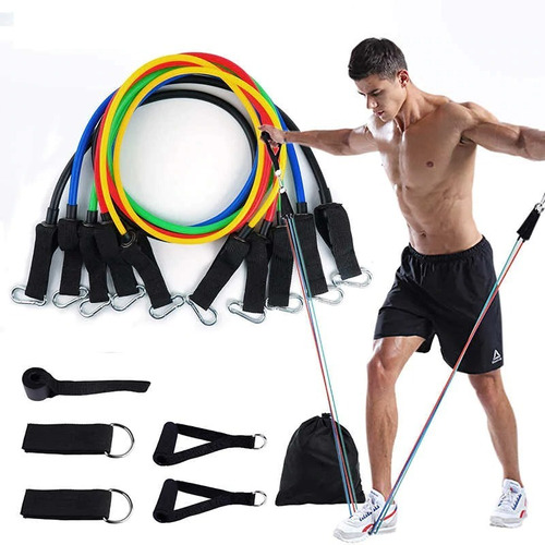 Imagen 1 de 3 de Liga De Resistencia Tubulares Reforzadas Gym Fitness Oferta