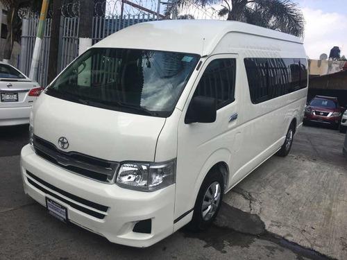 Imagen 1 de 6 de Toyota Hiace 2013 2.7 Bus 15 Pas Mt