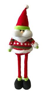 Muñeco Navidad Santa Patas Largas 50 Cm