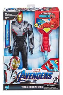 Muñeco Avengers Ironman Con Sonido 30cm E3298 Hasbro