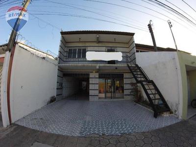 Prédio Comercial Com Galpão + Ponto Comercial + Apartamento Na Parangaba - Pr0006