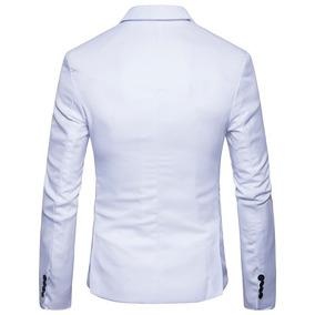 b9a292d735 Blazer Branco Masculino - Blazer para Masculino no Mercado Livre Brasil