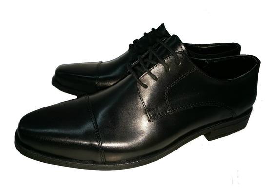 Zapato/ Calzado De Hombre De Vestir En Cuero Vacuno.