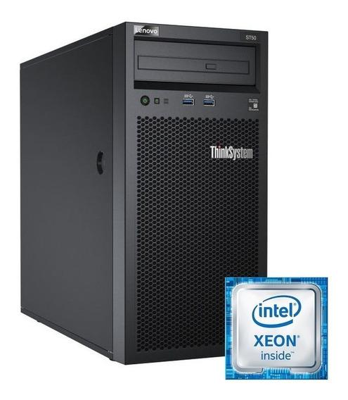 Servidor Lenovo St50 Thinkserver. Xeon E-2100 1tb 8gb Ddr4!