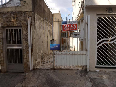 Casa Com 2 Dormitórios Para Alugar Por R$ 1.000/mês - Vila Matilde - São Paulo/sp - Ca0183