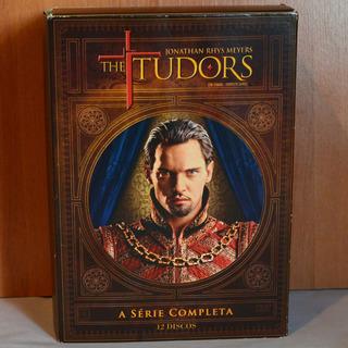 Box Dvd The Tudors A Série Completa 12 Discos Originais