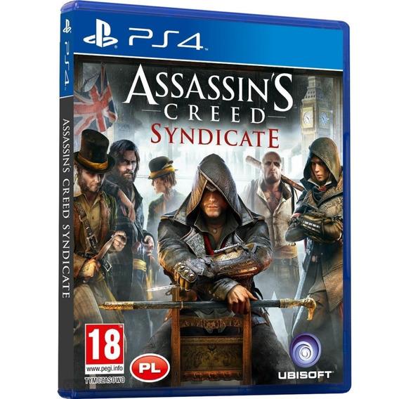 Jogo Assassins Creed Syndicate Ps4 Disco Fisico Cd Original