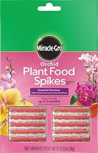 Imagen 1 de 5 de Planta De La Orquídea Miracle-gro Food Spikes, 1 Paquete De