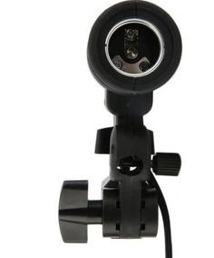 Soquete Simples Para Lâmpada Fotográfica E27 Estúdio