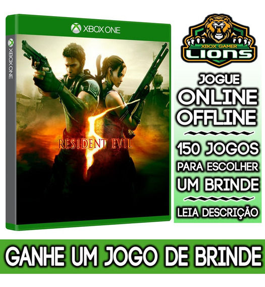 Resident Evil 5 Xbox One+ Brinde