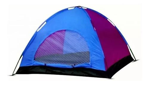 Carpa Camping 6 Personas 2.2x2.5x1.5mt Impermeable Con Malla