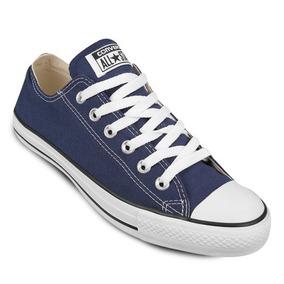 Zapatos Converse All Star Azul Marino (36 A 42)