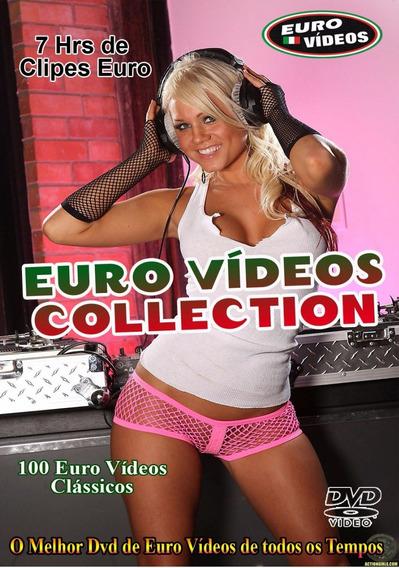 Dvd Euro Videos Collection 100 Vídeos - 7 Hrs De Euro Clipes