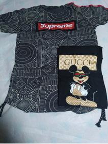 Pack Polera Supreme Y Gucci Talla M Cod 52
