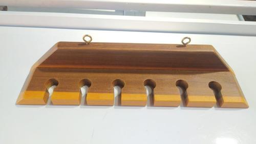 2 Porta Espetos Rústico-decoração Para Churrasqueira-fábrica