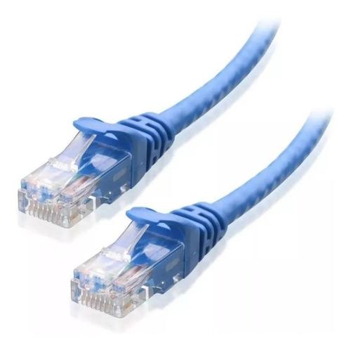 Cable De Red Cat 5e Rj45  10mts