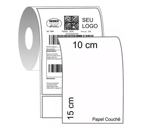 Etiqueta Adesiva Colche 10x15cm Mercado Livre Kit 6 Rolos