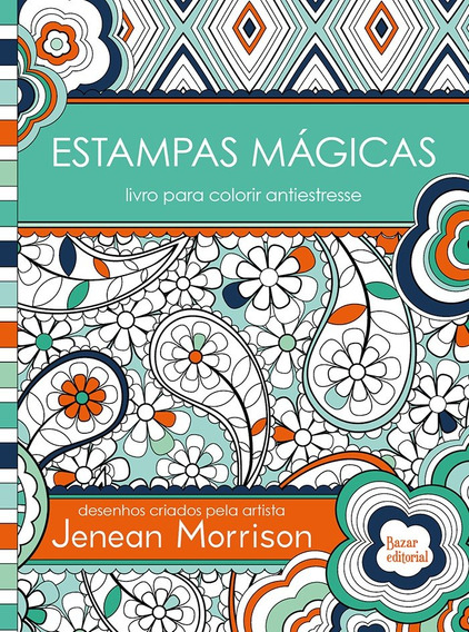 Estampas Magicas Livro Para Colorir Antiestresse